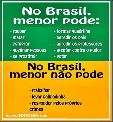 Menores do Brasil