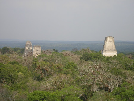 Guatemala travel: Tikal Star Wars