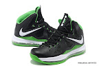 lbj10 fake colorway black green 1 02 Fake LeBron X
