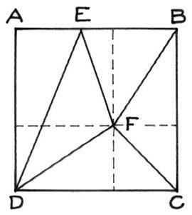 quadrato in parti uguali
