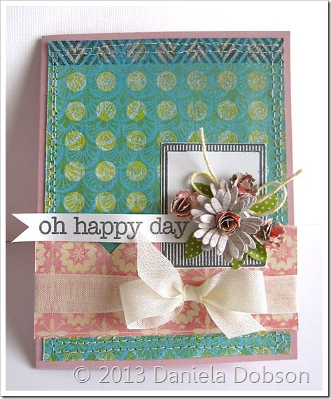 Oh happy day by Daniela Dobson
