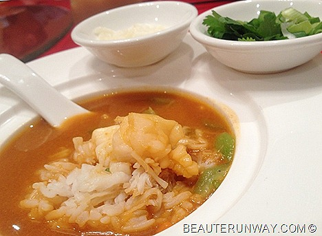 Old Hong Kong Legend Chinese restaurant Raffles City Singapore Poached Rice Lobster Stock scallops