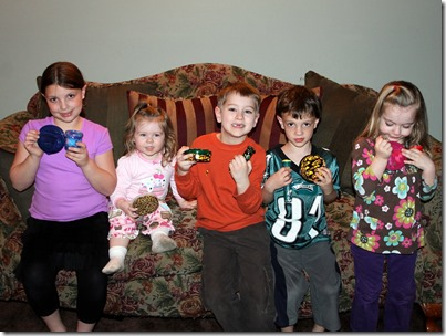 The Tenney and Naska Children with Their Geocaches #2