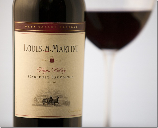2006 Louis M Martini Napa Valley Cabernet Sauvignon-1