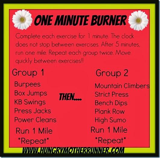 oneminuteburner