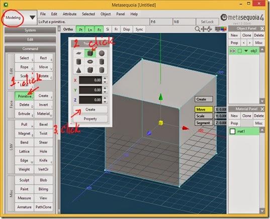 Create a Box in Meta