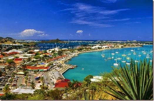 Marigot Bay - Princess Juliana - Saint Martin - Saint Maarten Maho Beach