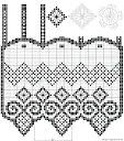 Описание: Вязаные шторы крючком для кухни - вариант замечательный. пинетки, вязание для детей, Вязаные крючком шторы...