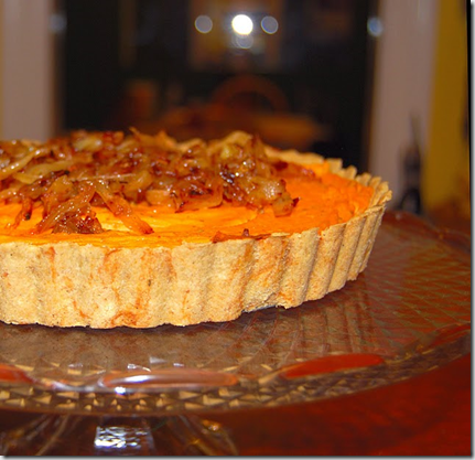 Savory Sweet Potato Quiche
