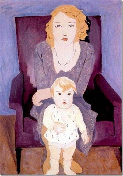 Josep de Togores i Llach - Madre e hijo _1931