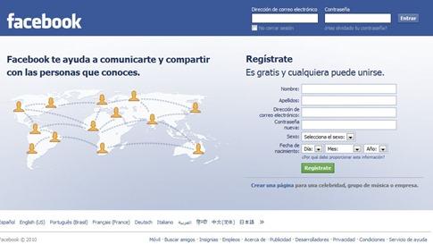 No puedo iniciar sesión en Facebook