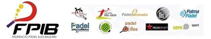 logo federacion padel islas balares 2012