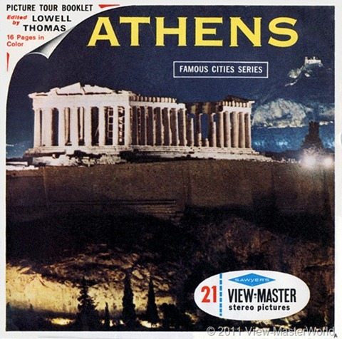 View-Master Athens (B206), Packet Cover
