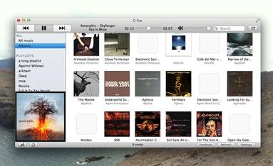 Google Music Player for Desktop