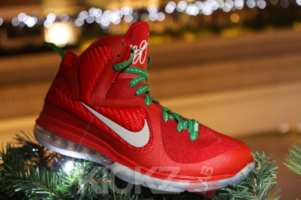 d0077944e0f74 Nike LeBron 9 8220Christmas8221 Official Release Date 1225 ...