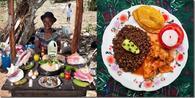 Serette Charles, 63 years old, Saint-Jean du Sud, Haiti. Lambi in creole sauce
