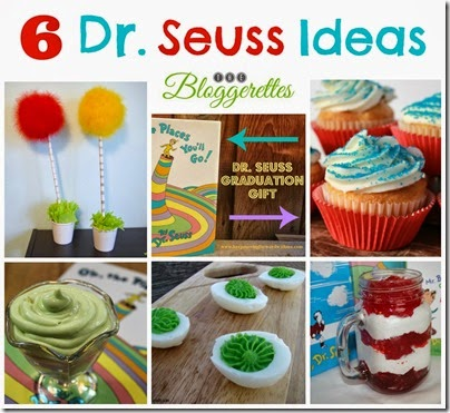 Dr. Seuss Collage Bloggerettes