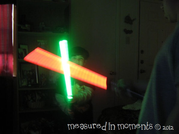 Light saber battles pic 1