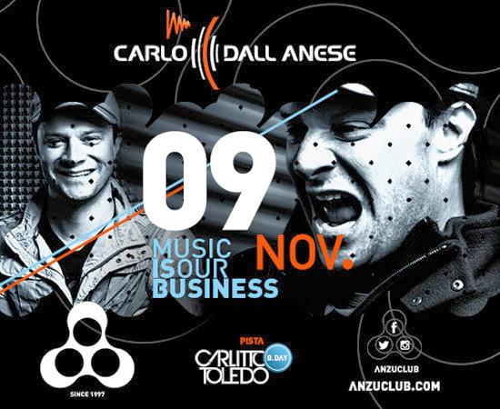 Carlo Dall Anese na Anzu Club em Itu