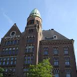 downtown amsterdam in Amsterdam, Noord Holland, Netherlands