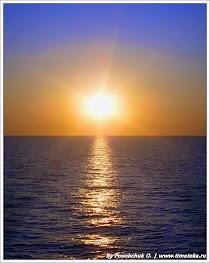 Закат. Остров Санторини.