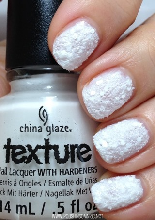China Glaze There's Snow One Like You