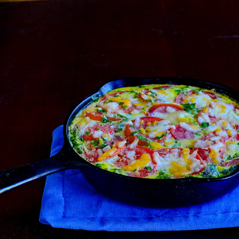 Potato and Bacon Frittata