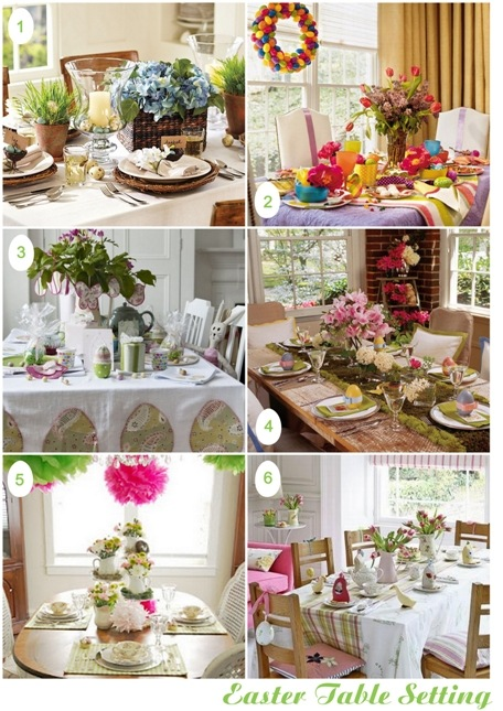 SemplicementePerfetto Easter Table Setting 1