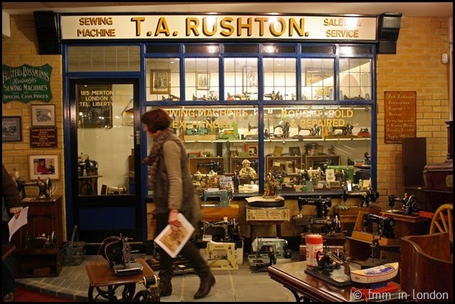 London Sewing Machine Museum T A Rushton shopfront