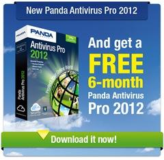 Panda Antivirus Pro 2012 Grais 6 Bulan