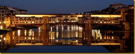 Firenze - pontevecchio di Sera
