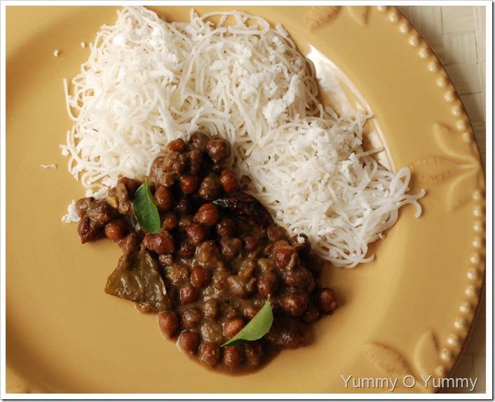 Easy Kadala Curry