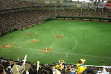 Yomuiri Giants vs. the Hanshin Tigers at Tokyo Dome