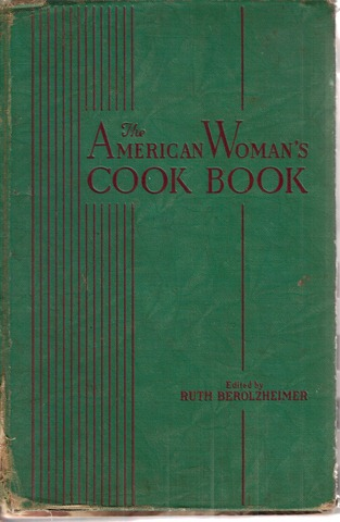 The American Woman cookbook cover 1931_mixer and homemaker