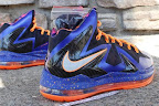 nike lebron 10 ps elite blue black 6 03 Release Reminder: Nike LeBron X P.S. Elite Superhero