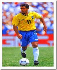 Romario the all time favorite striker of Brazil