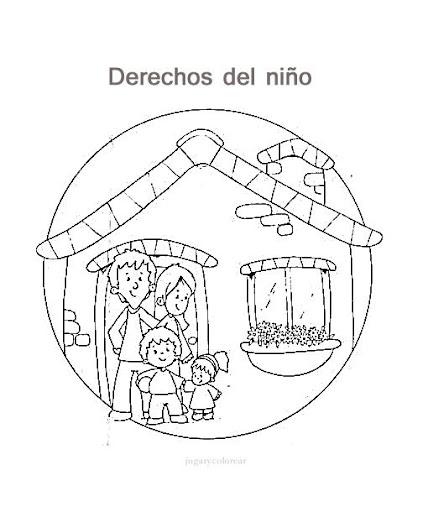 LOS DERECHOS DEL NIÑO EN MANDALAS PARA COLOREAR