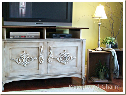wooden entertainment unit after 022a