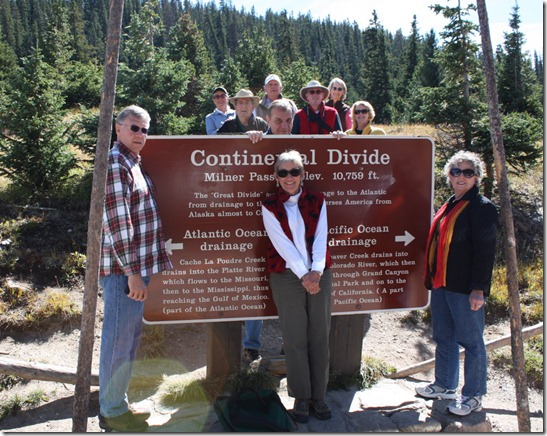 group at continental divide