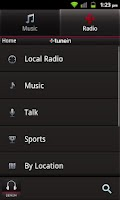 Screenshot of Denon Audio