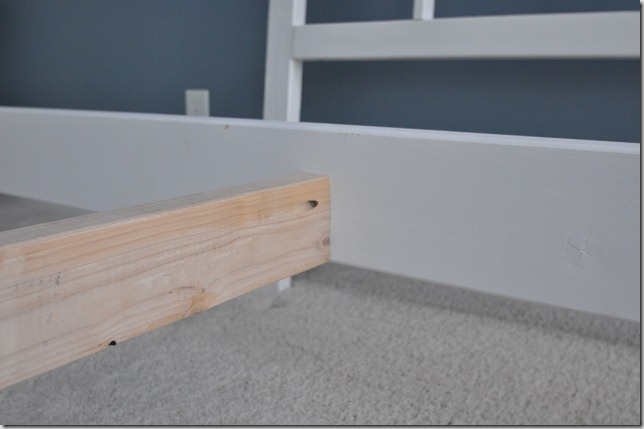 Bed Frame Slat Center Support Leg