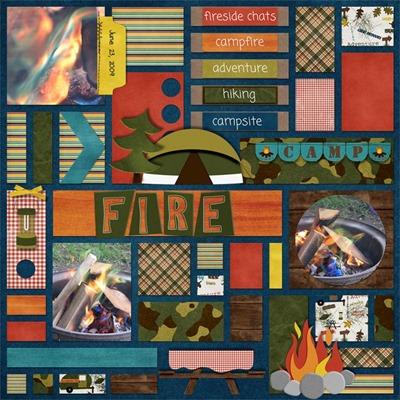 Leaving a Legacy Designs - Campfire - Campfire