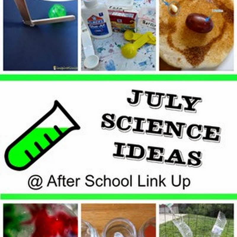 July Science Ideas for Kids