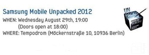 [Mobile] Samsung Galaxy Note II確定將在2012年IFA「開箱」?