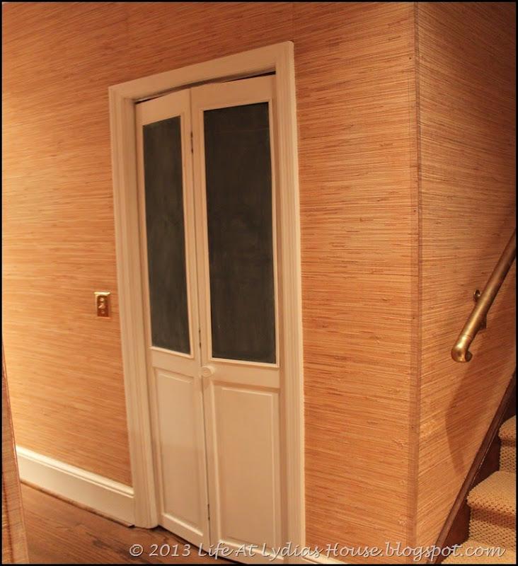 chalkboard pantry doors