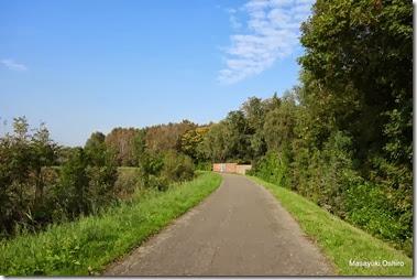 川沿い自転車道