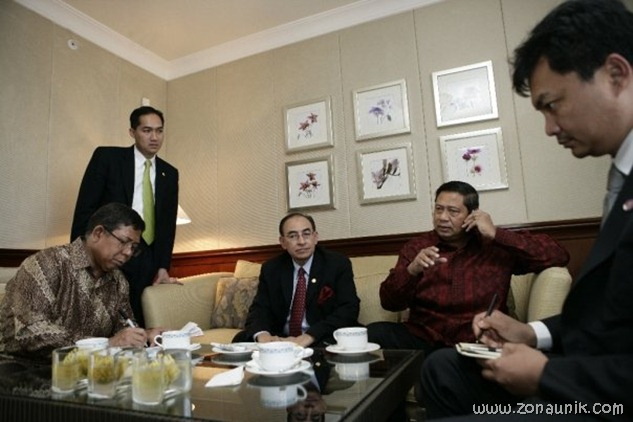 foto keseharian Presiden Indonesia Susilo Bambang Yudhoyono (49)