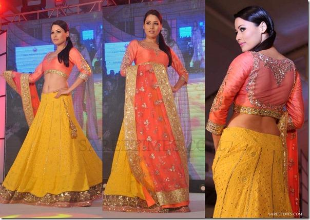 Manish_Malhotra_Pink_Lehenga_Style_Saree