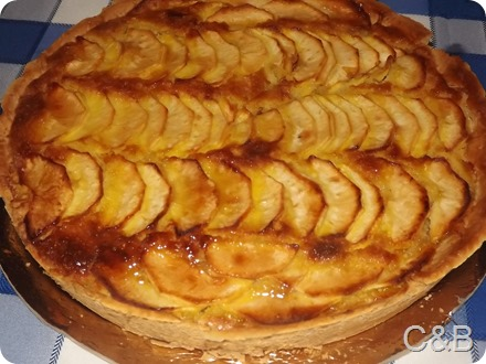 tarte Frangipane de maçã (1)