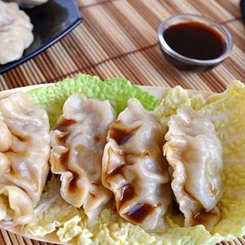 Κινέζικα  ζυμαρικά γεμιστά με κρέας